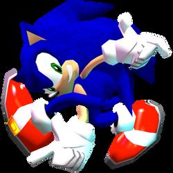 Pure Dreamcast Sonic Adventure Pose