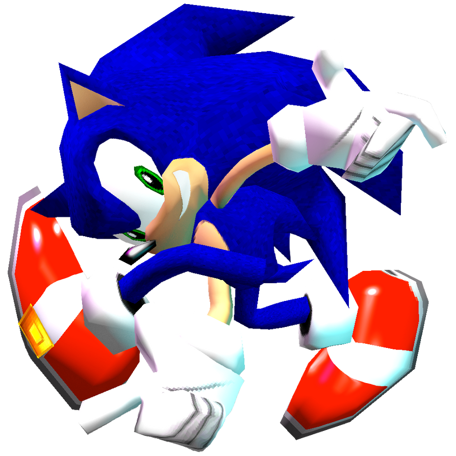 Pure Dreamcast Sonic Adventure Pose by Nibroc-Rock on DeviantArt