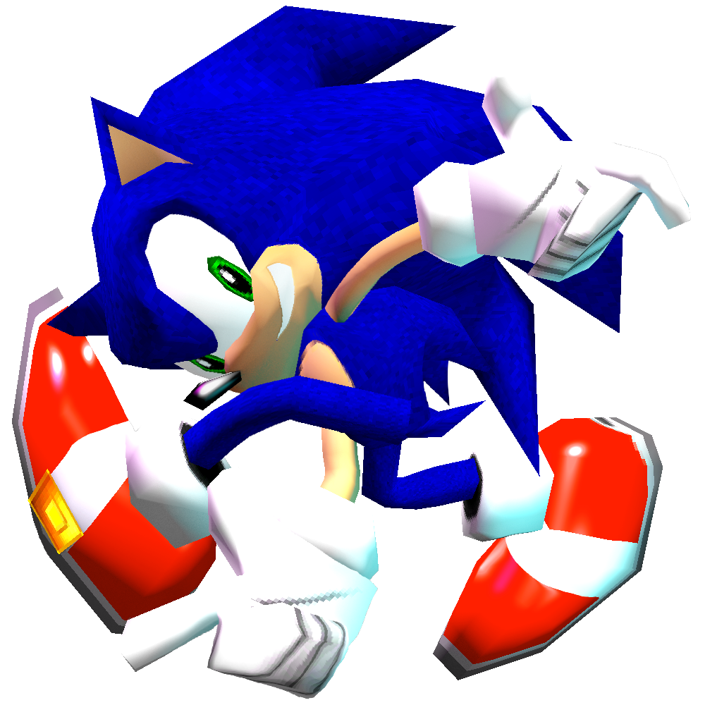 Pure Dreamcast Sonic Adventure Pose By Nibroc Rock On Deviantart