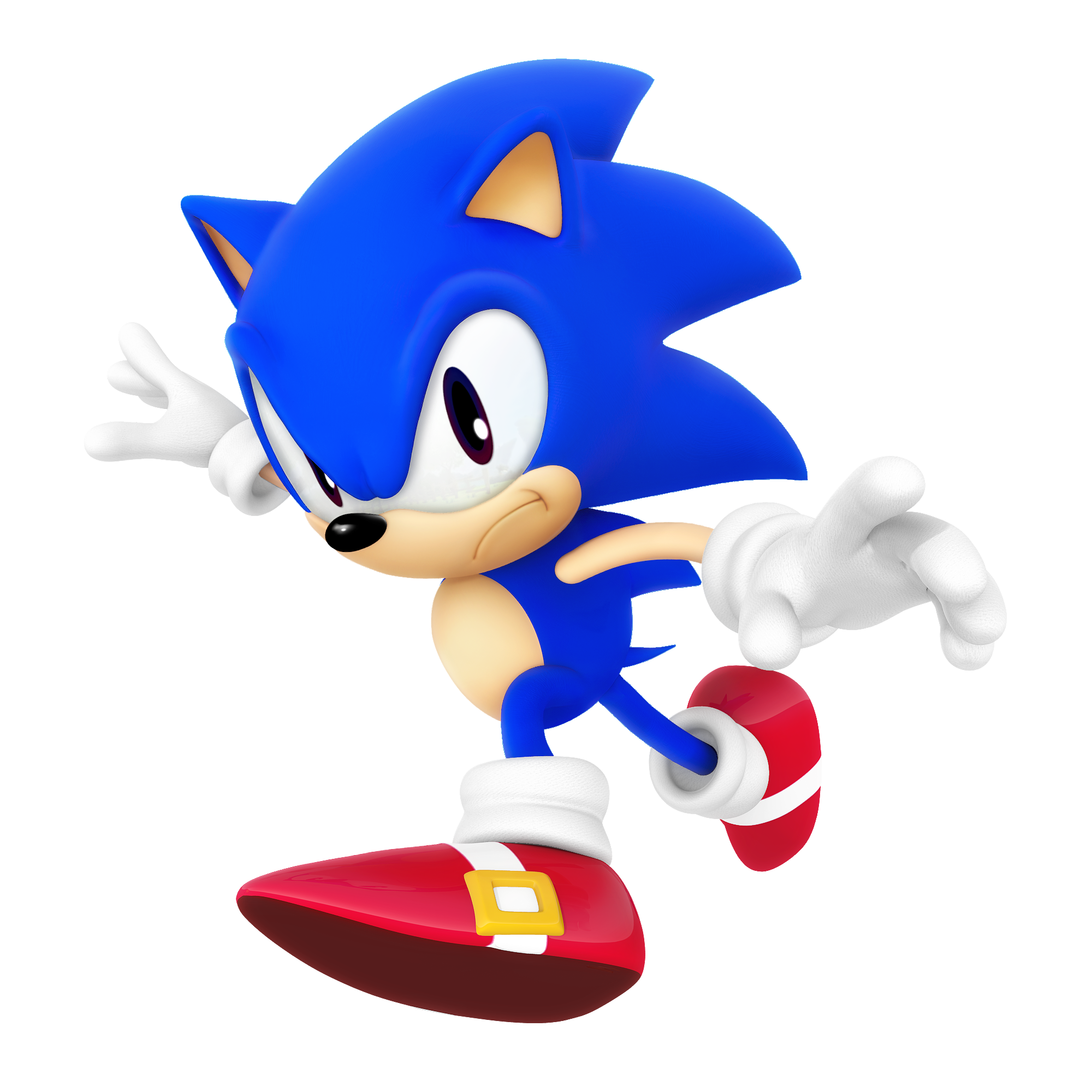 Classic Sonic Dimensional Render By Nibroc Rock On Deviantart