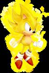 Classic Super Sonic Dimensional Render