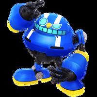Blue Egg Pawn Render