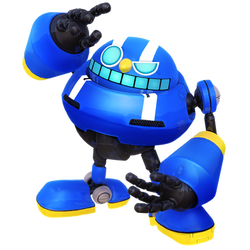 Blue Egg Pawn Render by Nibroc-Rock