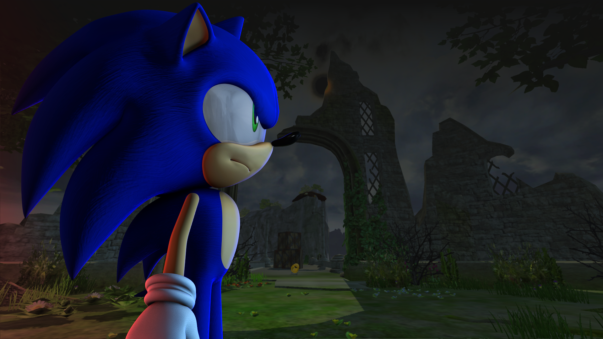 Kingdom Valley Wallpaper, Sonic Version  by Nibroc-Rock on
