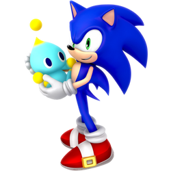 Sonic and Chao Spring 2019 by Nibroc-Rock