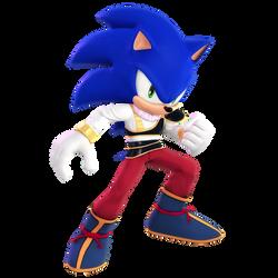 Sonic Yardrat Outfit render by Nibroc-Rock