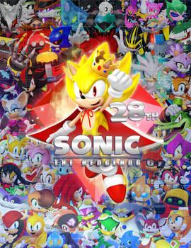 Sonic 28th Birthday Poster