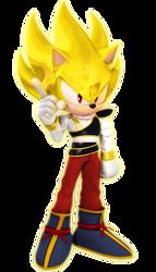 Super Sonic The Yardrat Render