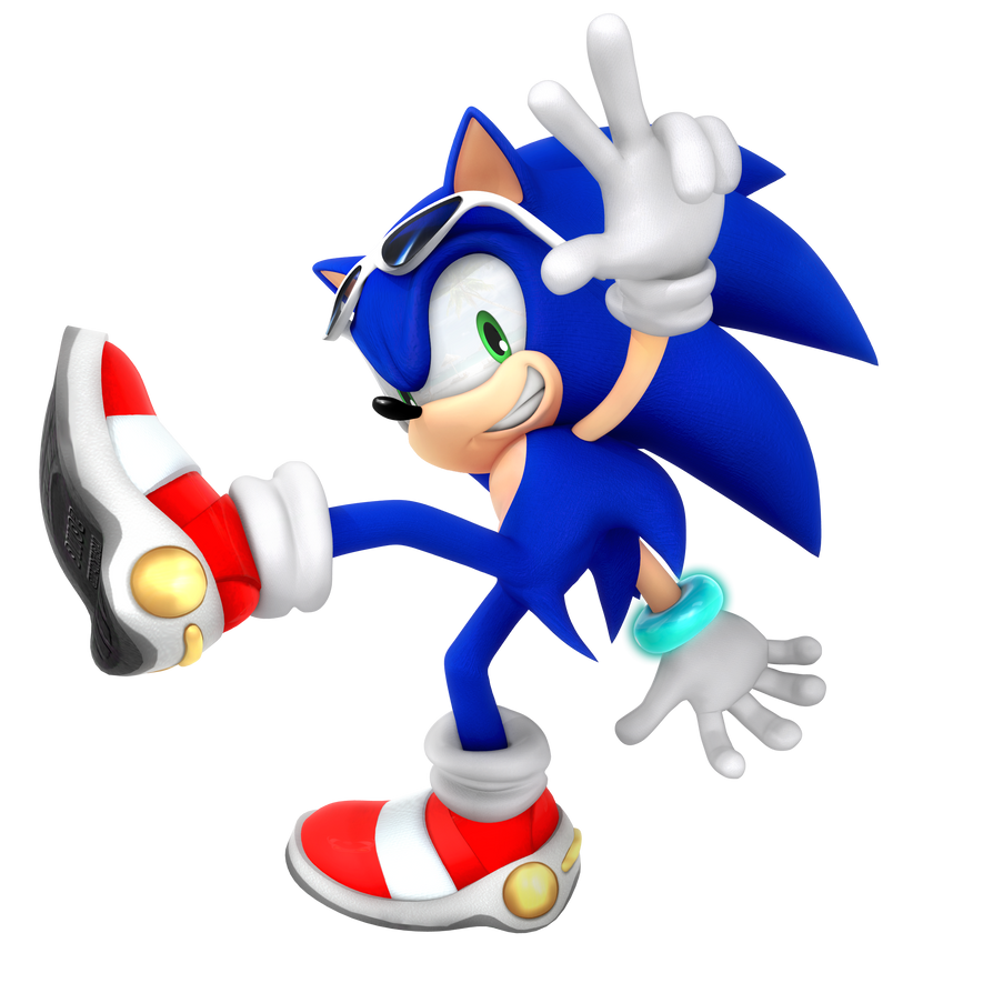 Sonic Adventure Upgraded Render by Nibroc-Rock on DeviantArt