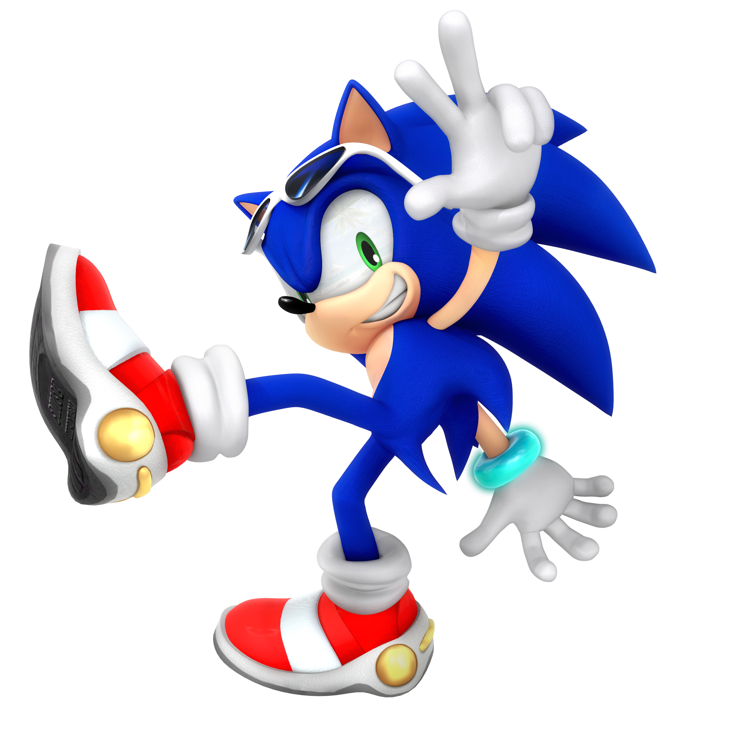 Sonic Adventure Upgraded Render By Nibroc Rock On Deviantart