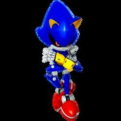 Modern Metal Sonic Render 2019