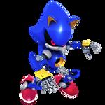 Boom Metal Sonic Render 2019