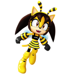 Honey The Cat Bee Halloween Outfit