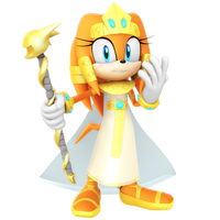 TIkal Egyptian Queen Halloween Render