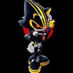 Metal Sonic 3.0 2019 Render