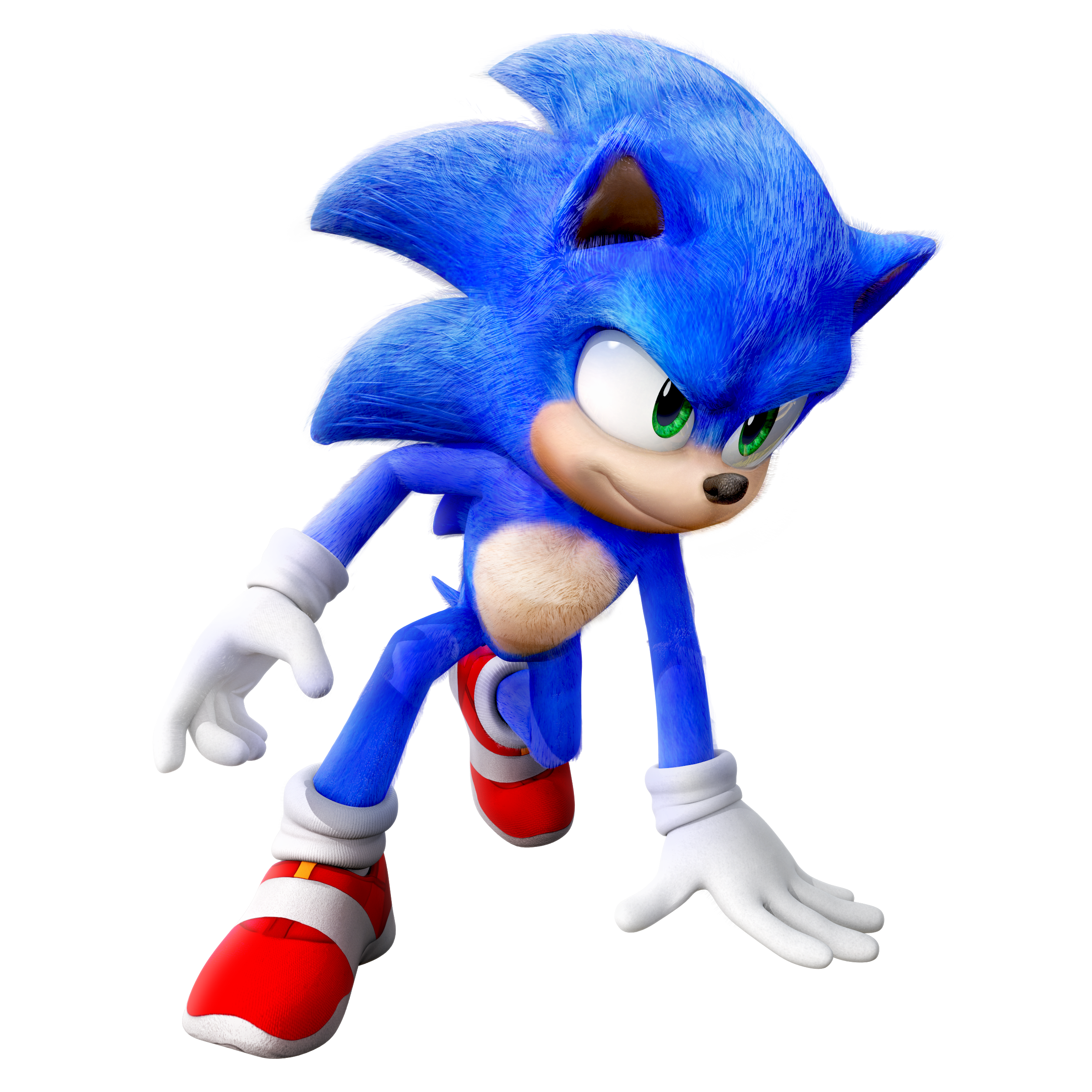Movie Sonic Render By Nibroc Rock On Deviantart