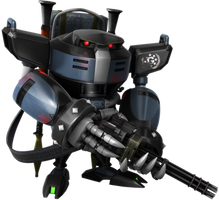 What If: G.U.N. E-123 Gatling Bull Omega