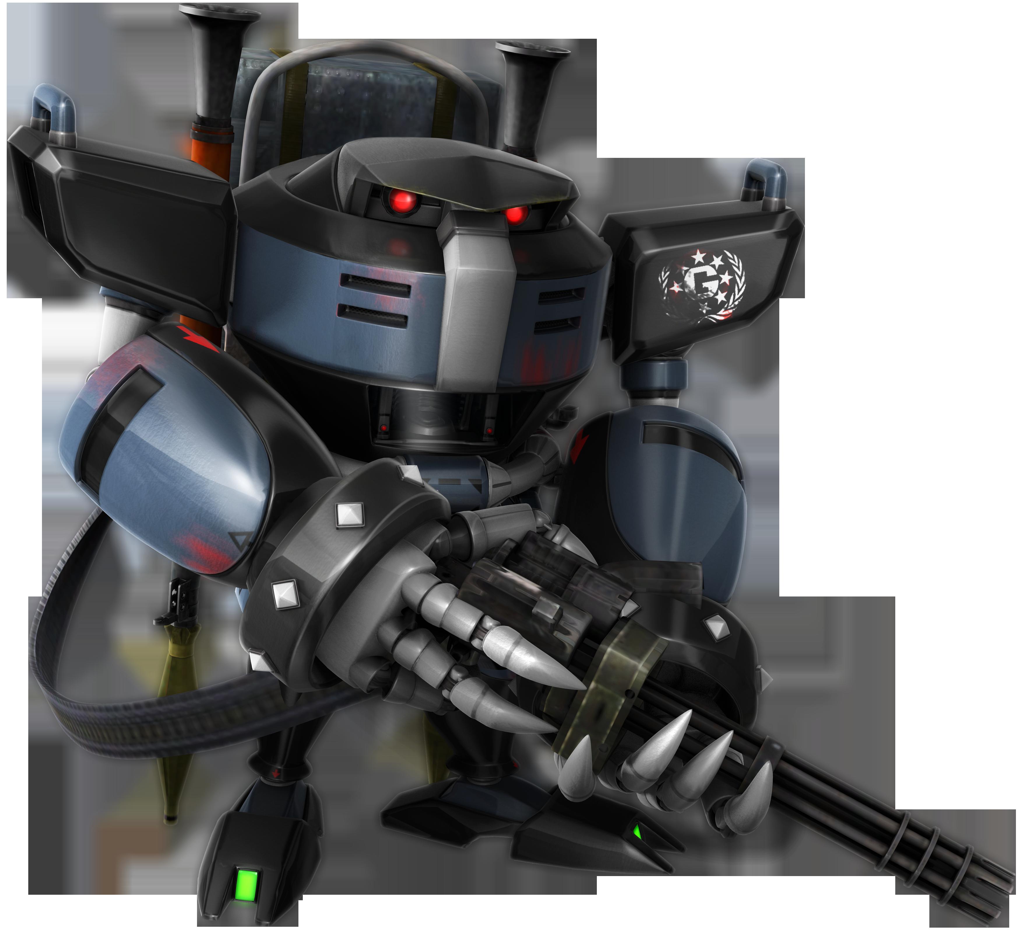 What If: G.U.N. E-123 Gatling Bull Omega