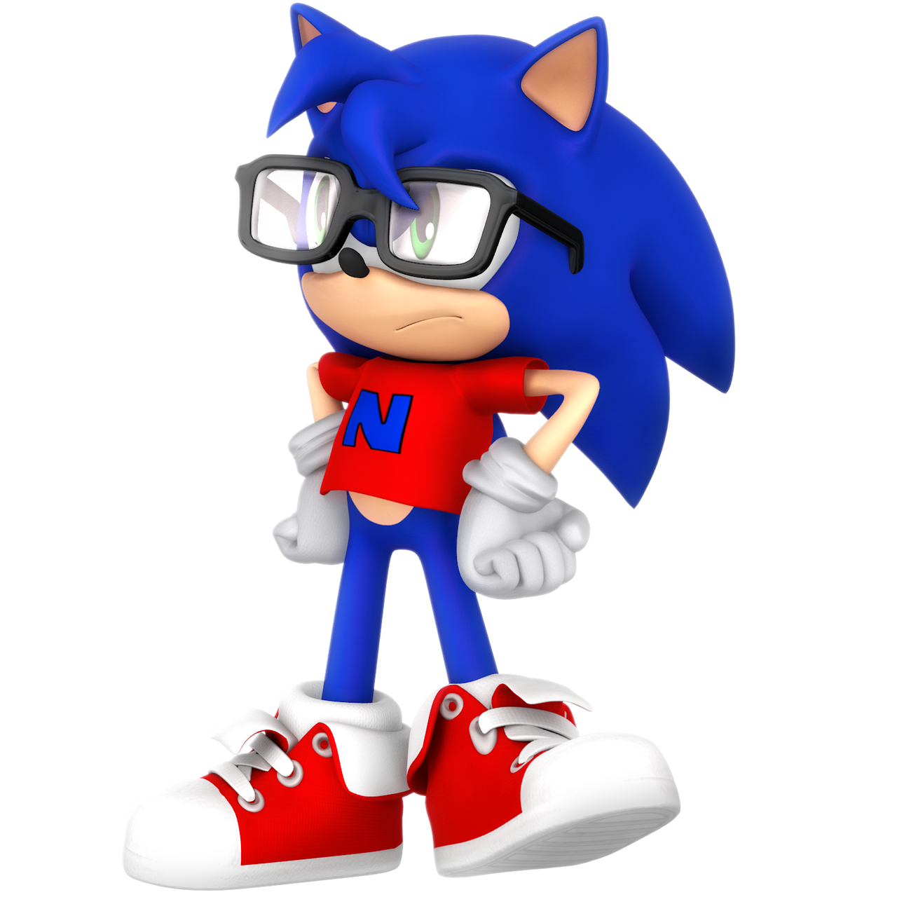 What If Young Sonic By Nibroc Rock On Deviantart