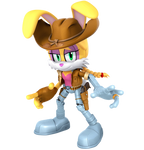 Bunnie Rabbot Render
