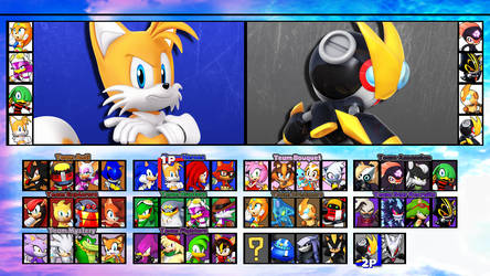 Sonic Fighters DreamMatch Roster 01
