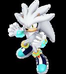 Silver the hedgehog 2020 render