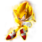 Evil Super Sonic Render (STC)