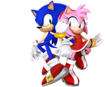 Sonic and Amy 2020 Renders