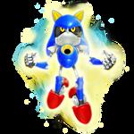 Super Metal Sonic Render Mania Adventures alt