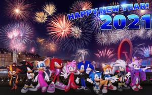 New Year 2021: Wallpaper