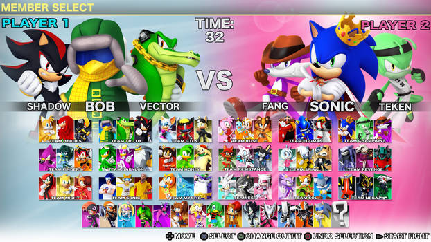 Sonic Fighters: King of The Ring, Roster 04