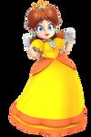 Princess Daisy Render