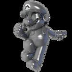 Metal Mario 2021 Render