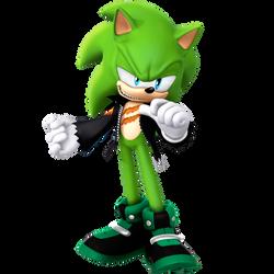 Scourge The Hedgehog 2021 Render Glassless