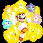 Star Spirit Mario from SMBZ