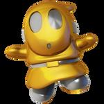 Gold Silver Shy Guy