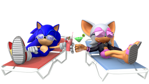 Sonic and Rouge