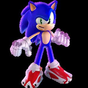 Sonic Prime Render