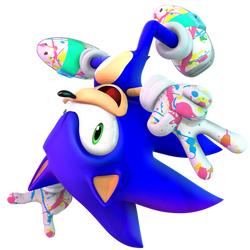 Sonic Colors Ultimate: Rad Outfit Render