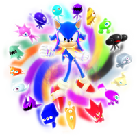 Unlimited Colors Sonic Render