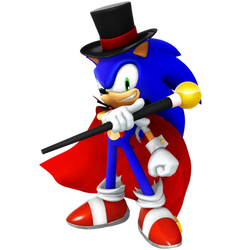 Halloween Sonic Render