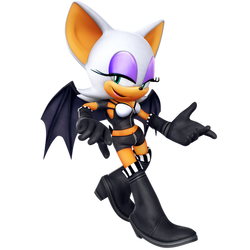 Rouge The Bat SA2B Unlockable Outfit