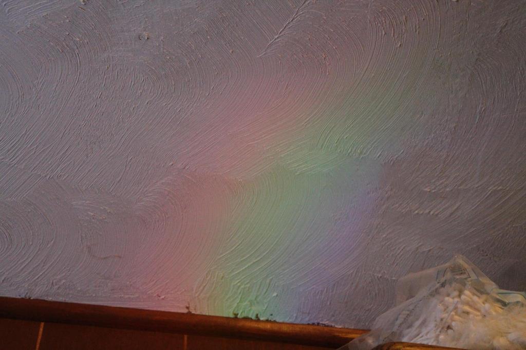rainbow on wall by willartmaster
