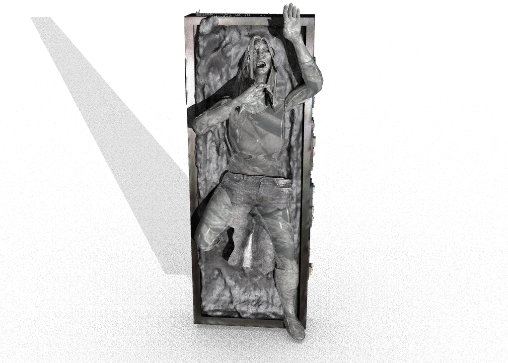 lydsey in carbonite by willartmaster
