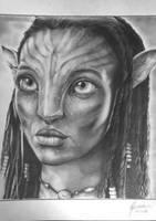 Avatar Neityry  by felipeamorimilustra