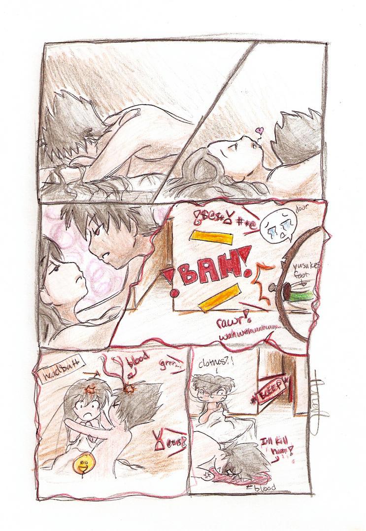 HieiKag Comic Strip Buzzkill By CatgirlKitsune