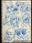 Futurama Sketches