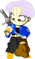 Chibi Future Trunks by mingming07