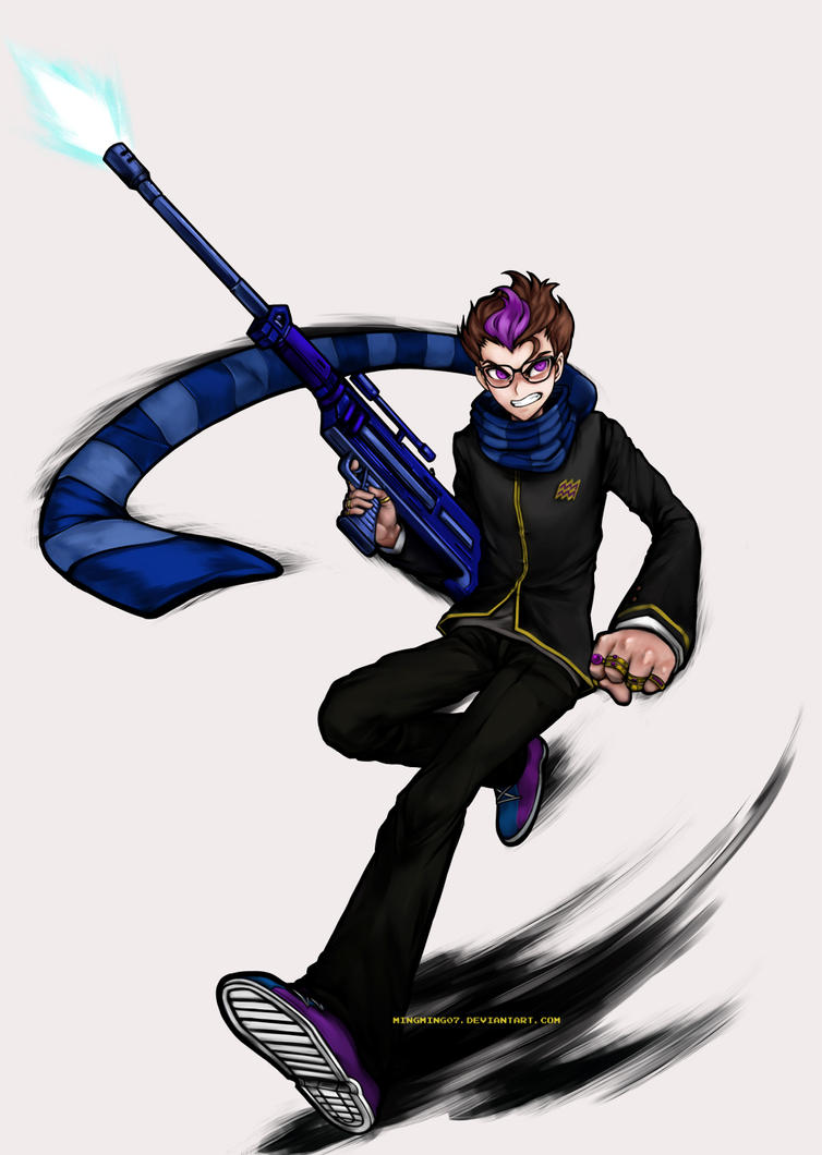 Danganstuck- Super High School Level Marksman by mingming07