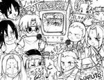 Naruto- Karaoke Chibis